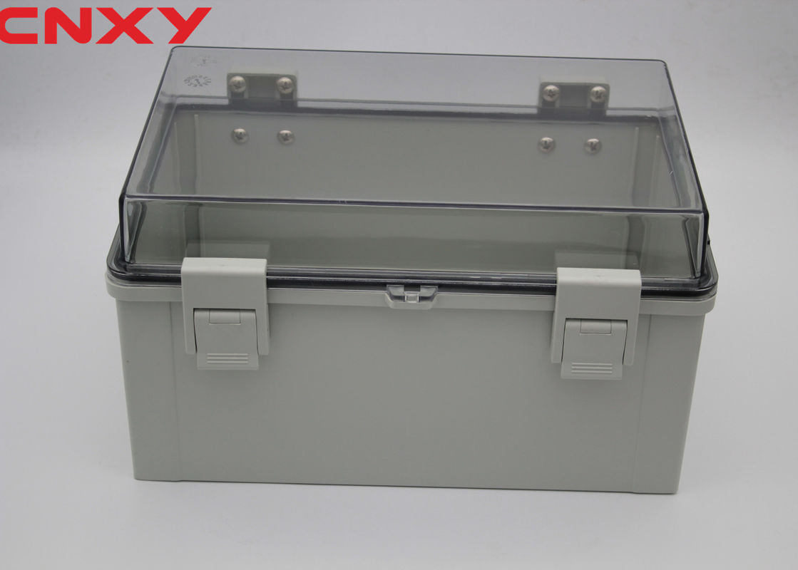 Outdoor Pcb Enclosure Plastic Junction Box M7-302017T With Transparent Cover