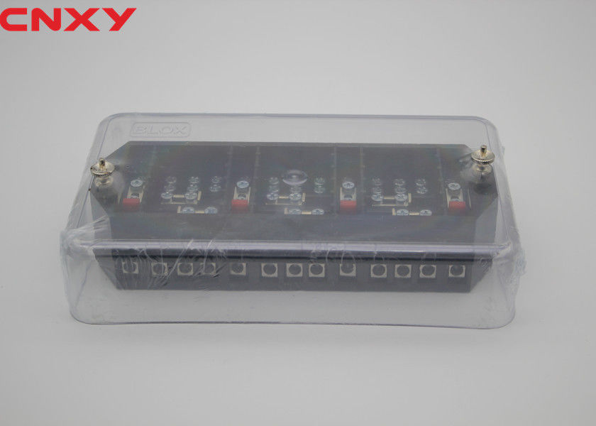 Anti Fire 4 Wire Test Terminal Block Impact Resistance For Measuring Equipment