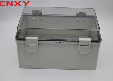 China Outdoor Pcb Enclosure Plastic Junction Box M7-302017T With Transparent Cover factory