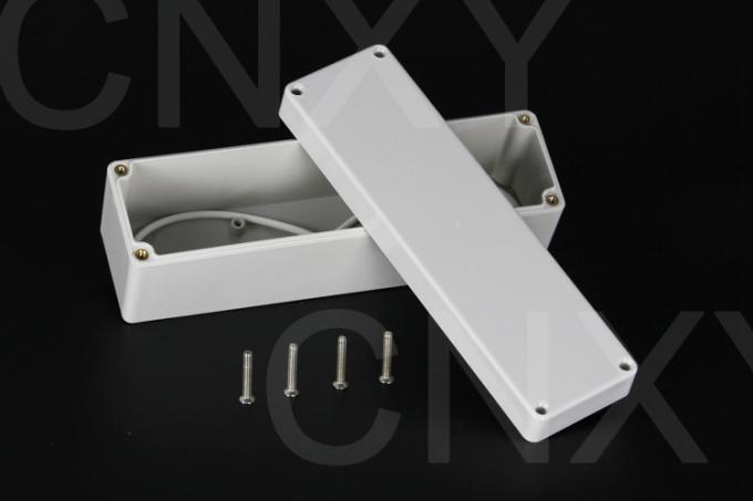 Dustproof Rectangular Plastic Junction Box Corrosion Resistance With Lid