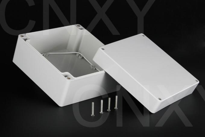 Stable Square Plastic Junction Box CNC Technology 160*160*90 Millimeter