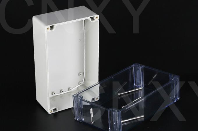 Hardness Terminal Plastic Junction Box Power Coating Apply To Building