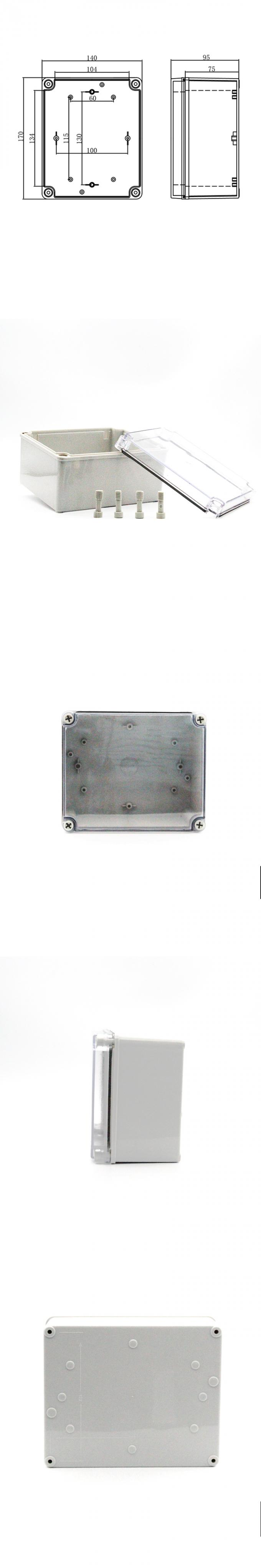 Safety External Waterproof Junction Box M3 171409T CE / RoHS Approved