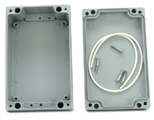 Water Resistant Aluminum Project Enclosure Hole Cutting Easy Operation